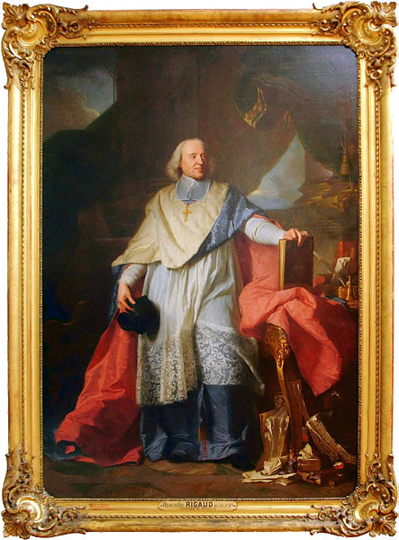 Portrait of Jacques-Bénigne Bossuet (1627-1704) by Hyacinthe Rigaud