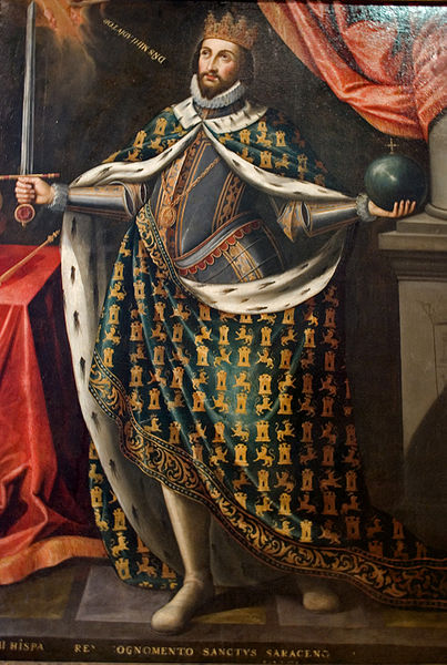 Portrait of Ferdinand III of Castile, Town Hall of Seville (source)