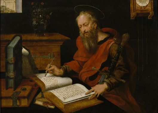 Master_with_the_Parrot_-_St_Luke_writing